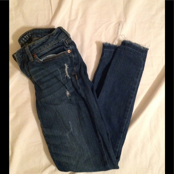 Aeropostale Denim - Junior's sz 0 AEROPOSTALE distressed skinny jeans
